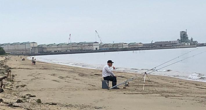 7月13日(土)香良洲海岸の釣果
