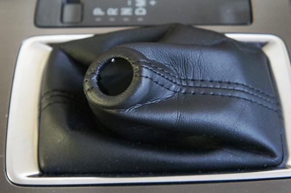 ハンドメイドのシフトブーツ