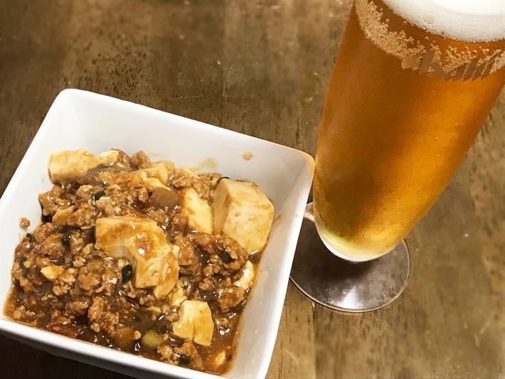 麻婆豆腐やバーベキューに森永豆腐