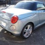 コペンCero(LA400K) | 納車されたばかりの新車にサイドブレーキカバー取付け