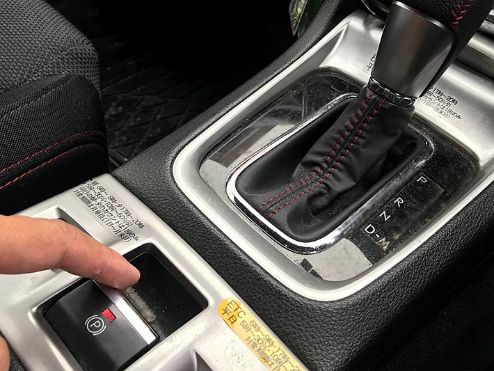 WRX S4のサイドブレーキ