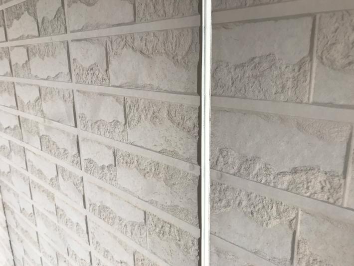 外壁の目地のコーキング
