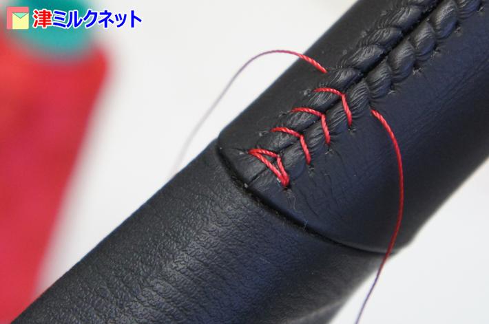 ステッチを縫う