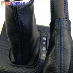 ライズ | 本革 青ステッチ仕様のシフトブーツセットで