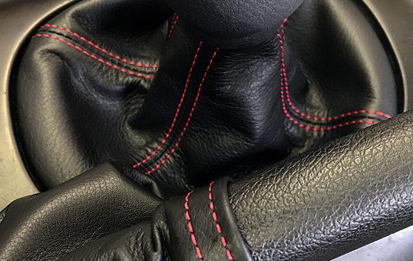 rx7用シフトブーツとサイドブレーキブーツ