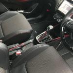 スイスポ | サイドブレーキブーツをコンソールを外さずに装着