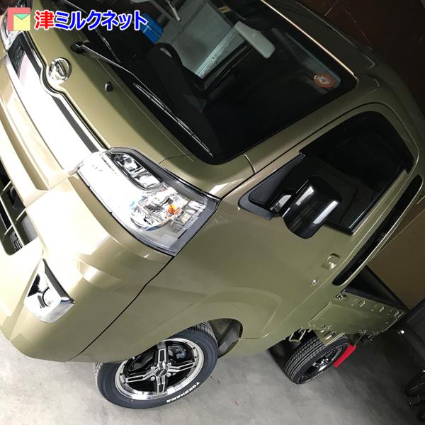 ハイゼットs500pオフビートカーキメタリック